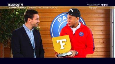 """[EXCLU Téléfoot 17/12] - Mbappé revient sur son succès au Trophée Téléfoot : """"Un honneur et une grande satisfaction de gagner"""""""
