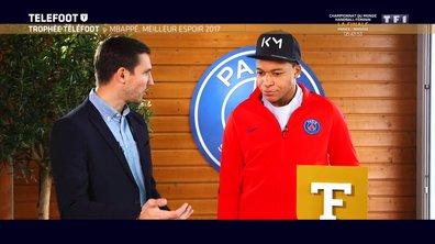 """[EXCLU Téléfoot 17/12] - Equipe de France / Mbappé : """"La Coupe du monde est dans un coin de la tête"""""""