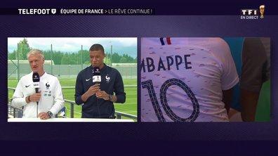 """[Exclu Téléfoot 08/07] - Mbappé sur la présence des Bleus en demi-finale : """"C'est une fierté"""""""