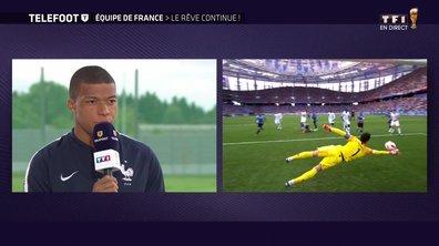 """[Exclu Téléfoot 08/07] - Mbappé : """"On voit qu'il y a une équipe qui se forme"""""""