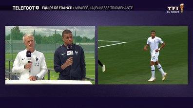 """[Exclu Téléfoot 08/07] - Mbappé : """"Ma Coupe du monde est réussie"""""""