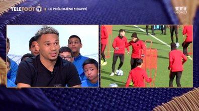 """[EXCLU Téléfoot 24/02] – Lala : """"C'est extraordinaire ce que fait Mbappé, il est différent"""""""