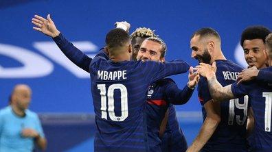 Portés par Mbappé, Griezmann et Benzema, les Bleus se rassurent