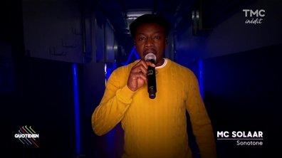 "MC Solaar  : ""Sonotone"" sur la scène de Quotidien"