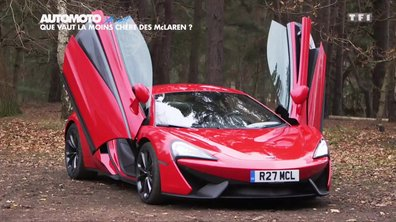 No Limit : La McLaren 540C à l'essai