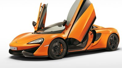 La McLaren 570S GT en 2016, la version Spider en 2017 ?