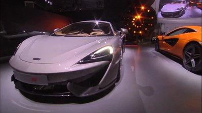 McLaren 570S Coupé 2015 : présentation au Salon de New York