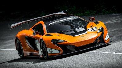 La McLaren 650S GT3 2014 s'expose au Festival de Goodwood 2014