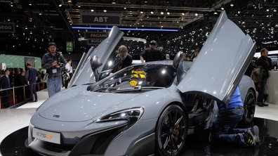 Salon de Genève 2015 : McLaren 675LT, une 650S plus radicale (+ vidéo)