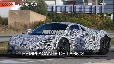 La future McLaren 720S 2017 en scoop