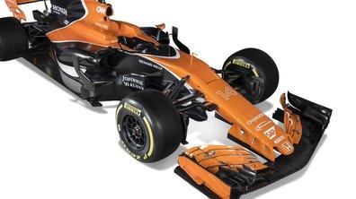 F1 2017 : La MCL32, monoplace McLaren, est bien vêtue d'orange !
