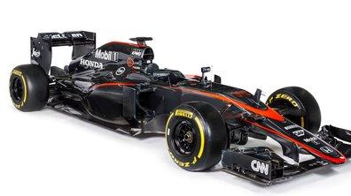 F1 : McLaren-Honda présente ses nouvelles couleurs