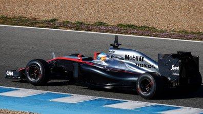 F1 2015 - Essais 2 Barcelone Jour 4 : Grosjean meilleur temps, un accident violent pour Alonso