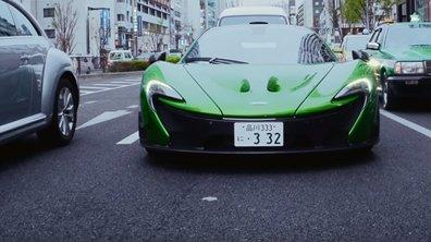 Un avocat japonais part travailler tous les matins en McLaren P1
