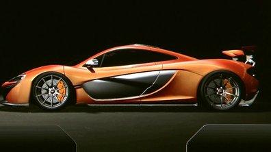 Salon de Genève 2013 : McLaren P1, l'écran de bord façon course