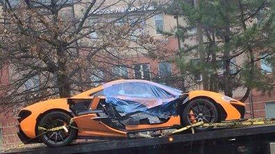 Insolite : Une McLaren P1 accidentée aux Etats-Unis