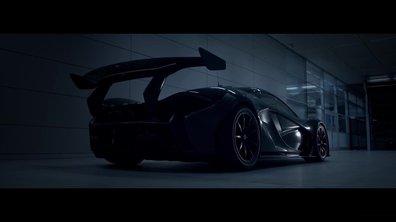 McLaren P1 GTR 2015 : teaser officiel