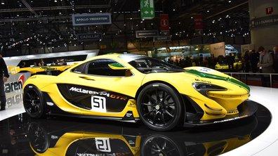 Salon de Genève 2015 : McLaren P1 GTR, la pistarde britannique ultime