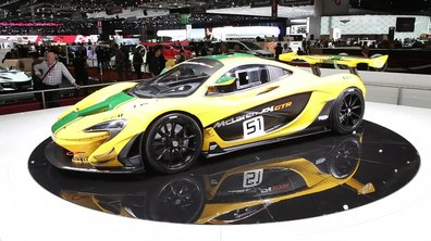 La McLaren P1 GTR, la pistarde des millionnaires au Salon de Genève 2015