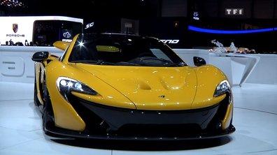 La McLaren P1 en version définitive au Salon de Genève 2013
