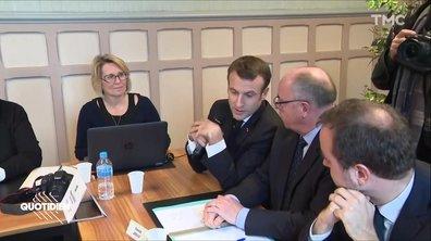Mea Culpa, Emmanuel Macron a bien présenté ses voeux