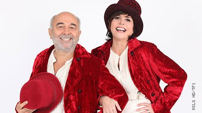 Les duos d'Enfoirés : Liane Foly et Gérard Jugnot