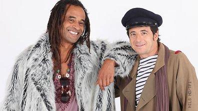 Les duos d'Enfoirés : Patrick Bruel et Yannick Noah
