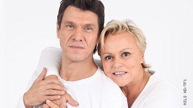 Les duos d'Enfoirés : Muriel Robin et Marc Lavoine