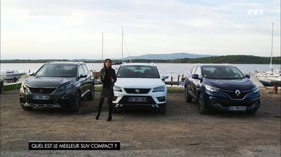 Renault Kadjar, SEAT Ateca, Peugeot 3008 :Quel est le meilleur SUV compact 2016 ?