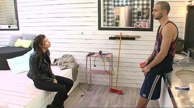 Mélanie et Bastien se disputent au sujet de Julien