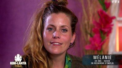 Découvrez Mélanie, nouvelle aventurière de l'émission (VIDEO)