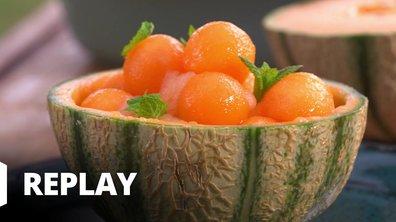 Melon au granité de Monbazillac