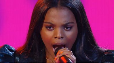 "The Voice 2021 – Mentissa chante ""Un point c'est toi"" de Zazie (KO)"