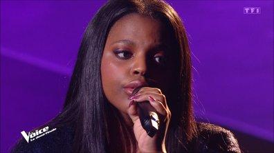 """The Voice 2021 – Mentissa chante """"Pour ne pas vivre seul"""" de Dalida (Demi-finale)"""