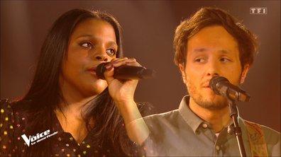 """The Voice 2021 – Mentissa et Vianney chantent """"Parce que c'est toi"""" d' Axelle Red (Demi-finale)"""