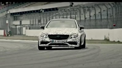 Mercedes-AMG C63 Coupé: nouvelle vidéo avant Francfort!