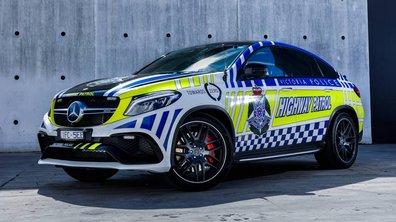 Insolite : La police australienne s'offre une Mercedes-AMG GLE 63 S Coupé