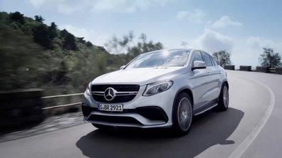 Mercedes-AMG GLE Coupé 63 2015 : présentation officielle