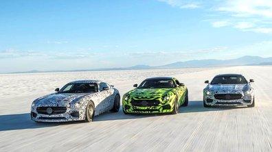 Future Mercedes-AMG GT 2015 : 3,8 s au 0-100 km/h, 310 km/h, et une vidéo