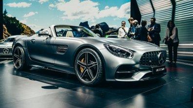 Mondial de l'Auto 2016 : la Mercedes-AMG GT Roadster se découvre