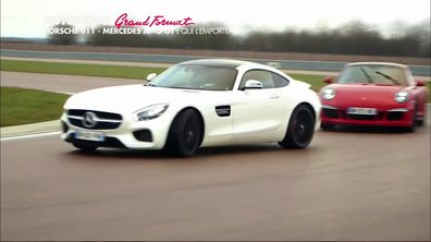Grand Format : Mercedes-AMG GT vs Porsche 911, l'épreuve du circuit