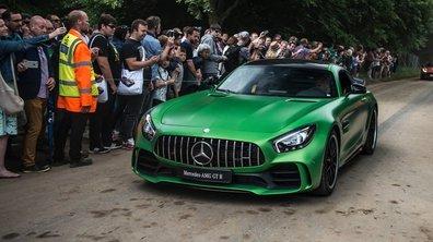 La nouvelle Mercedes-AMG GT R s'expose au Festival de Goodwood 2016