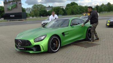 Lewis Hamilton ambassadeur de la Mercedes-AMG GT R 2016