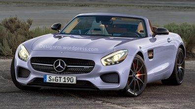 Mercedes-AMG GT 2015 : à peine née, déjà imaginée en Roadster et Black Series !