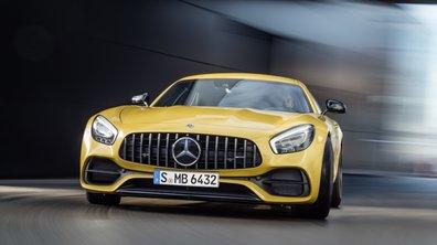 Mercedes-AMG GT4 Concept : un concept de berline sport au Salon de Genève 2017 ?