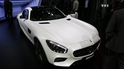 La Mercedes-AMG GT au Salon de Genève 2015