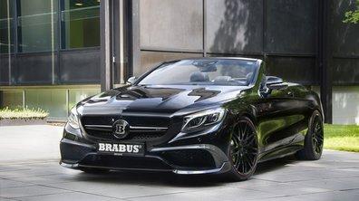 La Mercedes S 63 AMG Cabriolet par Brabus, un vrai démon !