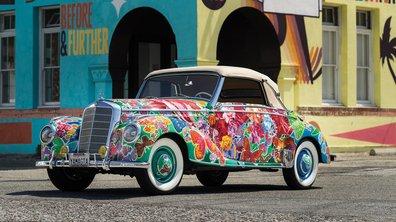 Occasion : une superbe Mercedes-Benz 220 Cabriolet A 1952 aux enchères