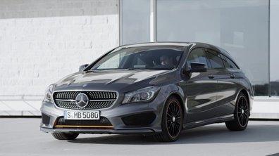 Mercedes-Benz CLA Shooting Brake 2015 : présentation officielle