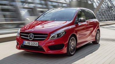 Mercedes-Benz Classe B 2014 : léger restylage pour le Mondial de Paris